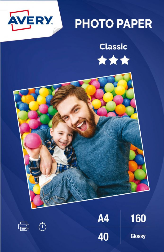 Classic Glossy Photo Paper 180 g/m²